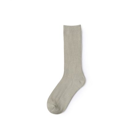 Basic socks private label dress socks women-light grey
