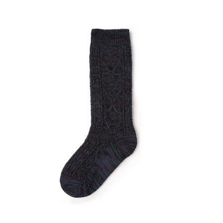 Custom knee-high socks solid color basic socks-grey