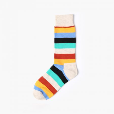 England style colorful custom dress socks classical-pure
