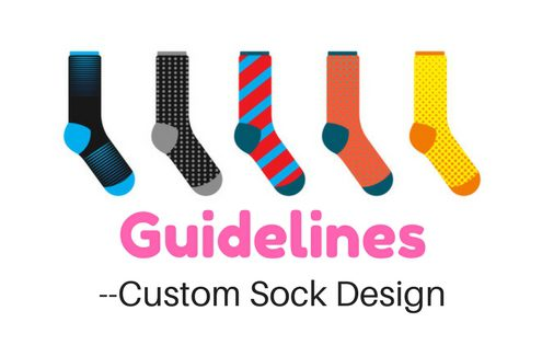 custom sock design guideline
