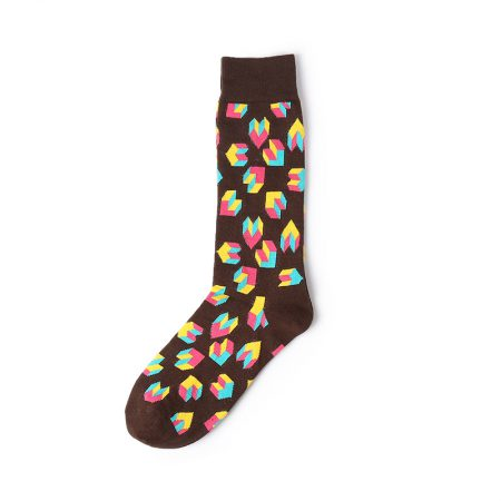 Hot air balloon custom knee-high socks unisex-stairs