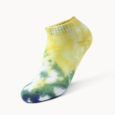 Invisible socks tie dye private label ankle socks-fruit