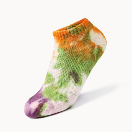 Invisible socks tie dye private label ankle socks-gentle