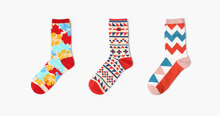 Private label colorful custom dress socks