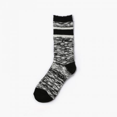 Private label custom dress socks thick yarn-grey