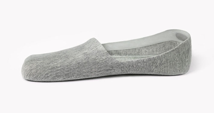 Private label no-slip custom no-show socks