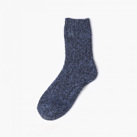 Thick yarn classic dress socks-blue
