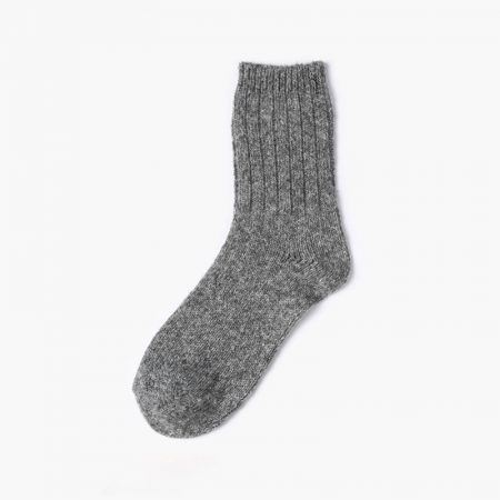 Thick yarn classic dress socks-grey