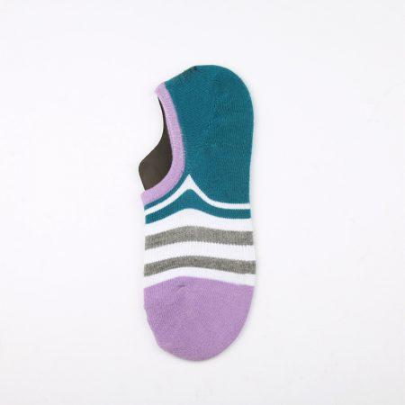 anti-slip wholesale no-show socks-purple