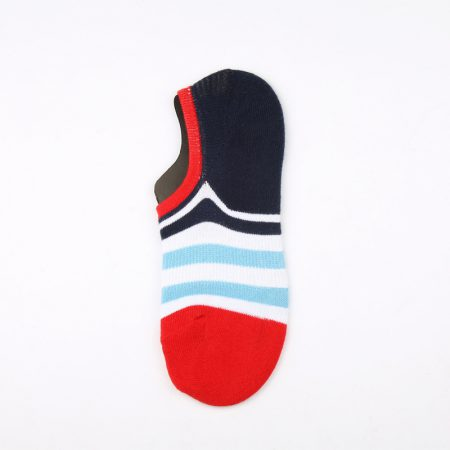 anti-slip wholesale no-show socks-red