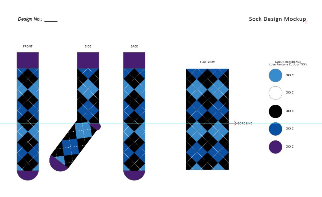 custom sock design template kit free downloads meetsocks