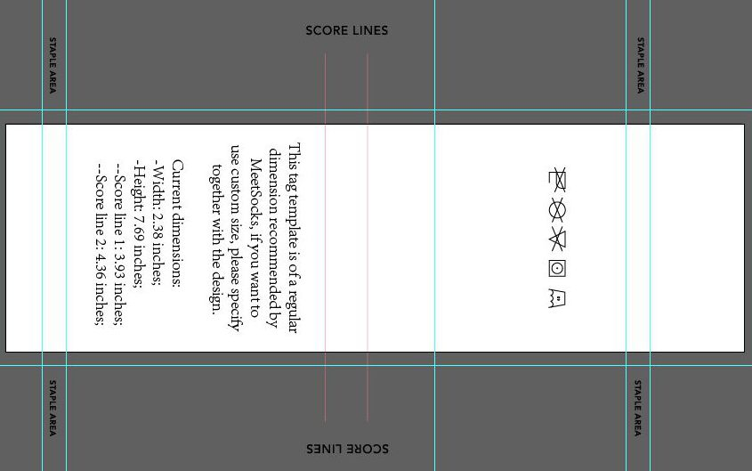 Custom sock design template-tags