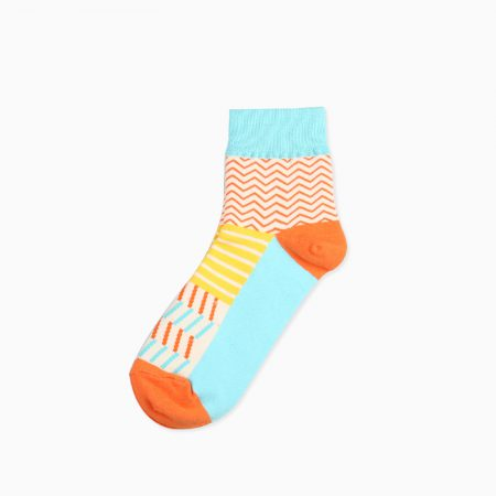 mountain custom crew socks unisex-stripes