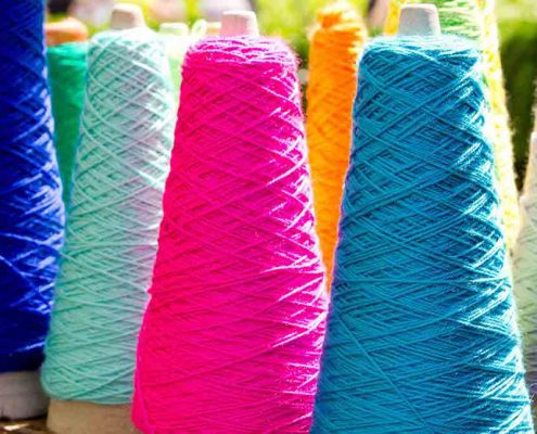 Sock yarn color options